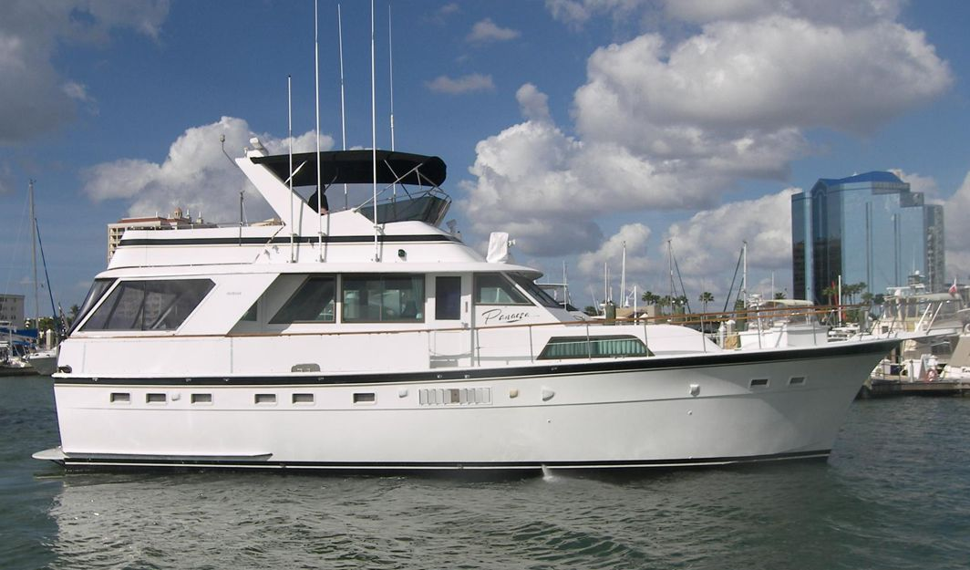 ... Hatteras 53 Motor Yacht. Production Years 1969–88. Overview; Specifications ...