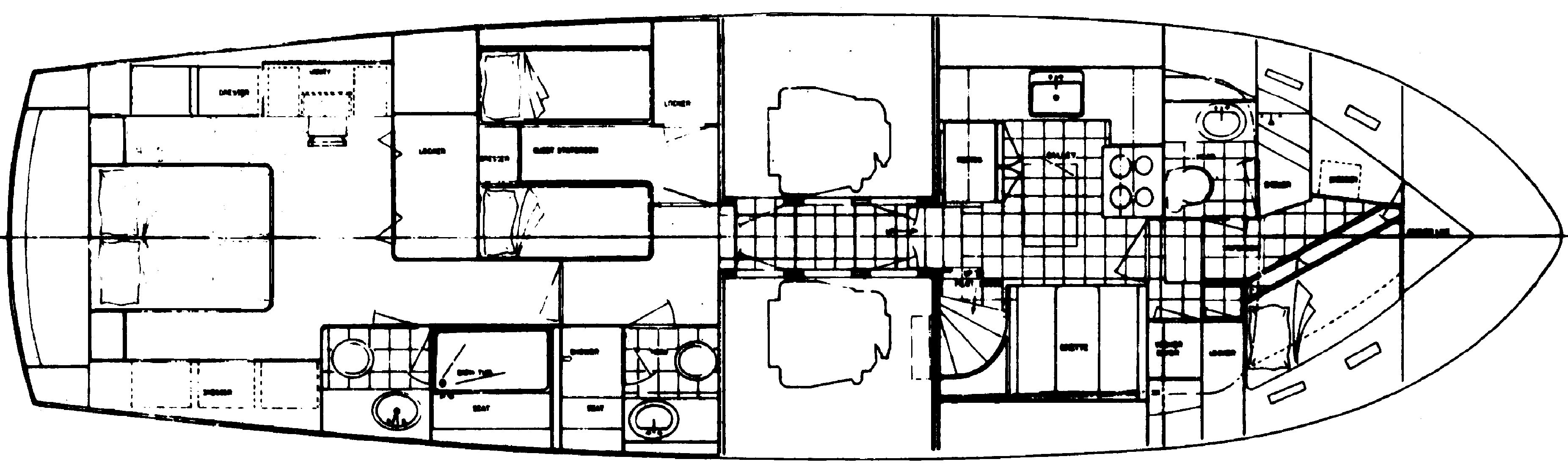Galley Down Layout