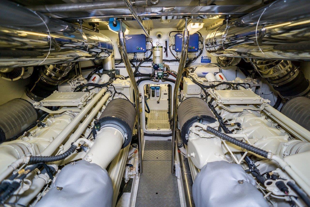 84 Viking Princess Engine Room
