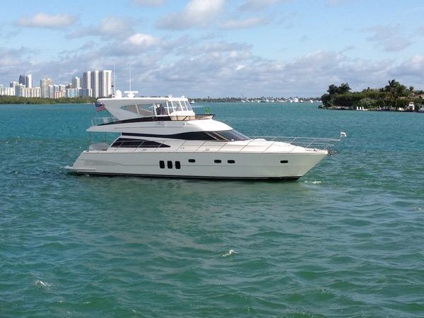 Steel Aweigh Neptunus 2004 62 Flybridge 65 Yacht For Sale In US