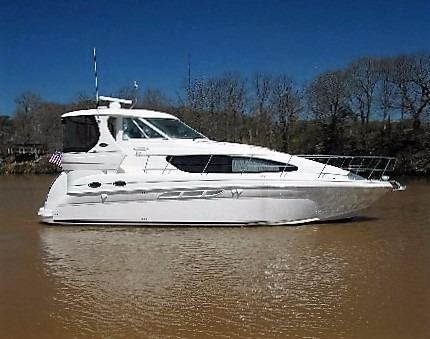 39 Sea Ray profile starboard