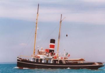 105' Steam tug schooner 1895 1895
