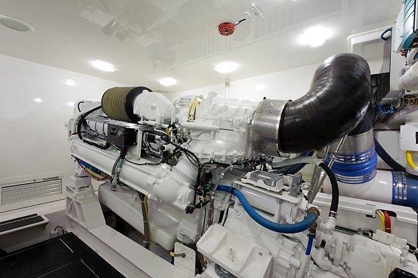 82 Viking Engine Room
