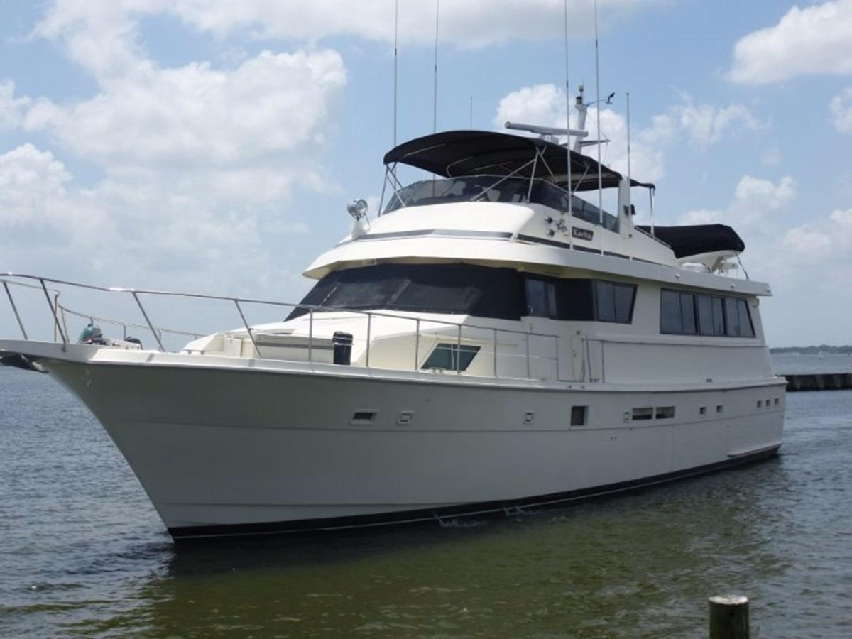 1988 hatteras 70 motor yacht yacht for sale in nettles for Hatteras 70 motor yacht
