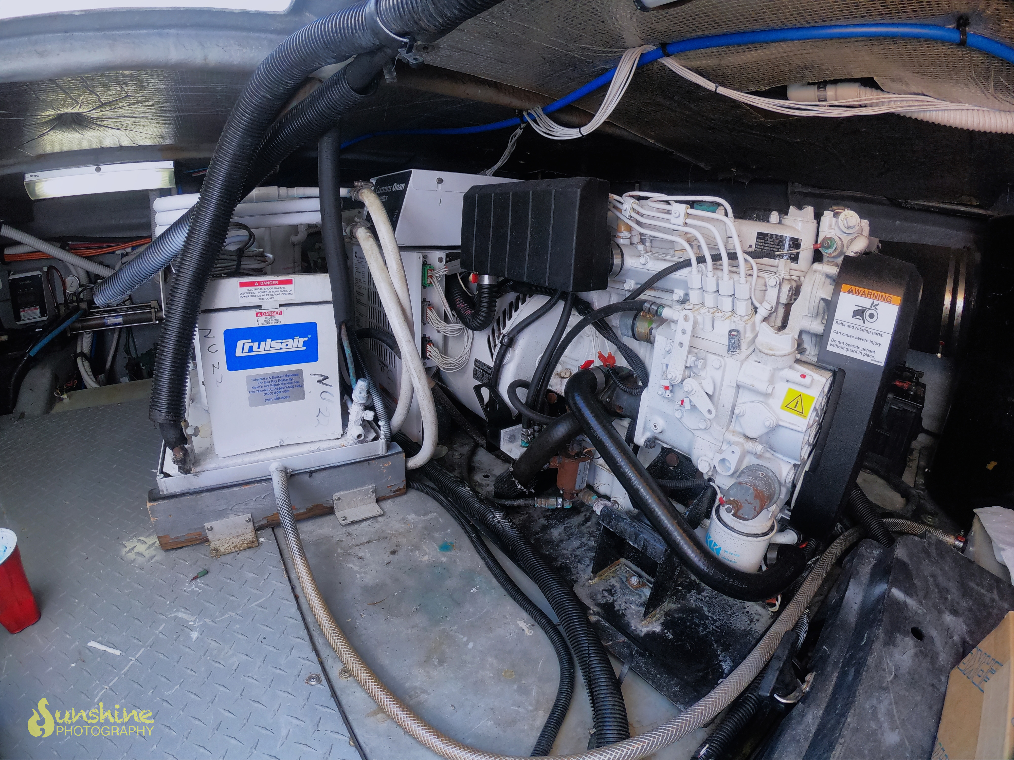 Sea Ray Boats Engine Wiring Schematic Diagram Cruisair Marine Ac Livin The Dream 48 Yachts For Sale Flybridge