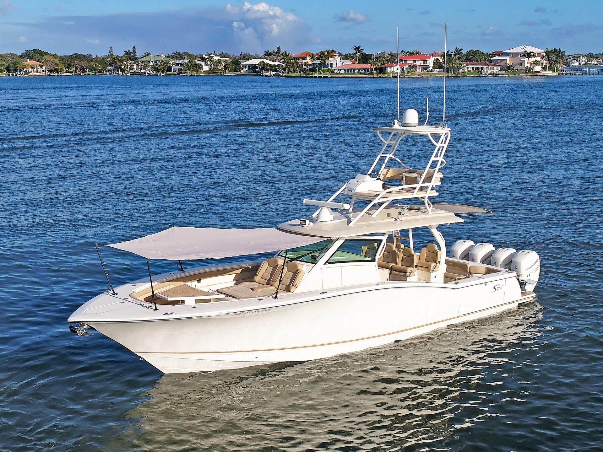 used scout 42 yachts for sale in florida