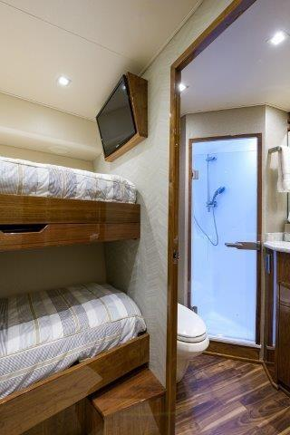 80 Viking Starboard Guest Stateroom, Forward