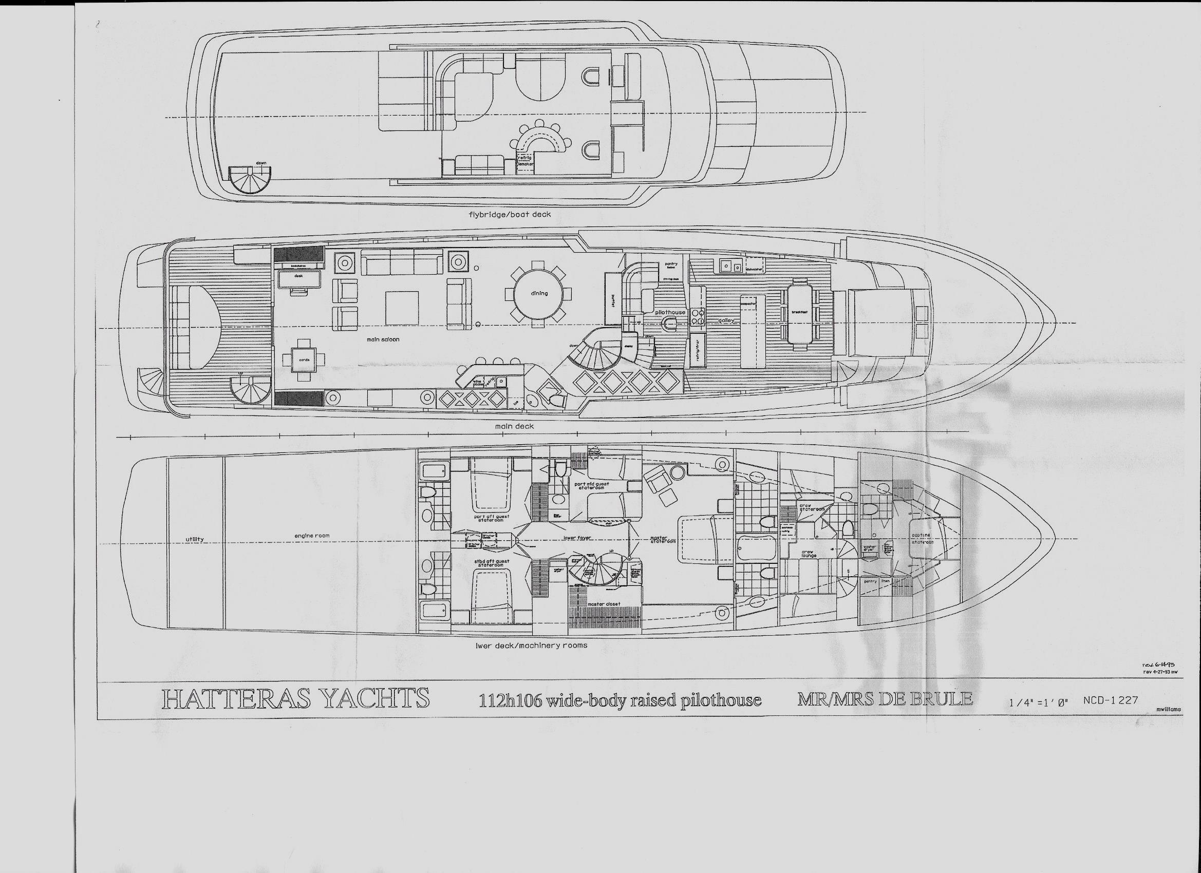 lady monroe hatteras 114 yachts for sale guitar wiring diagrams hatteras wiring diagram #2