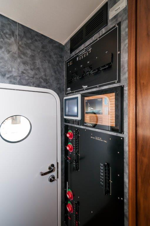 92 Viking Systems Monitor at Crew's Quarters