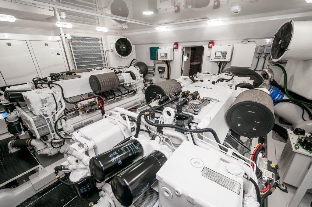 92 Viking Engine Room