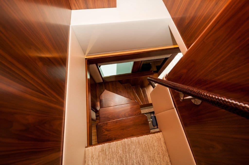 92 Viking Staircase to Bridge