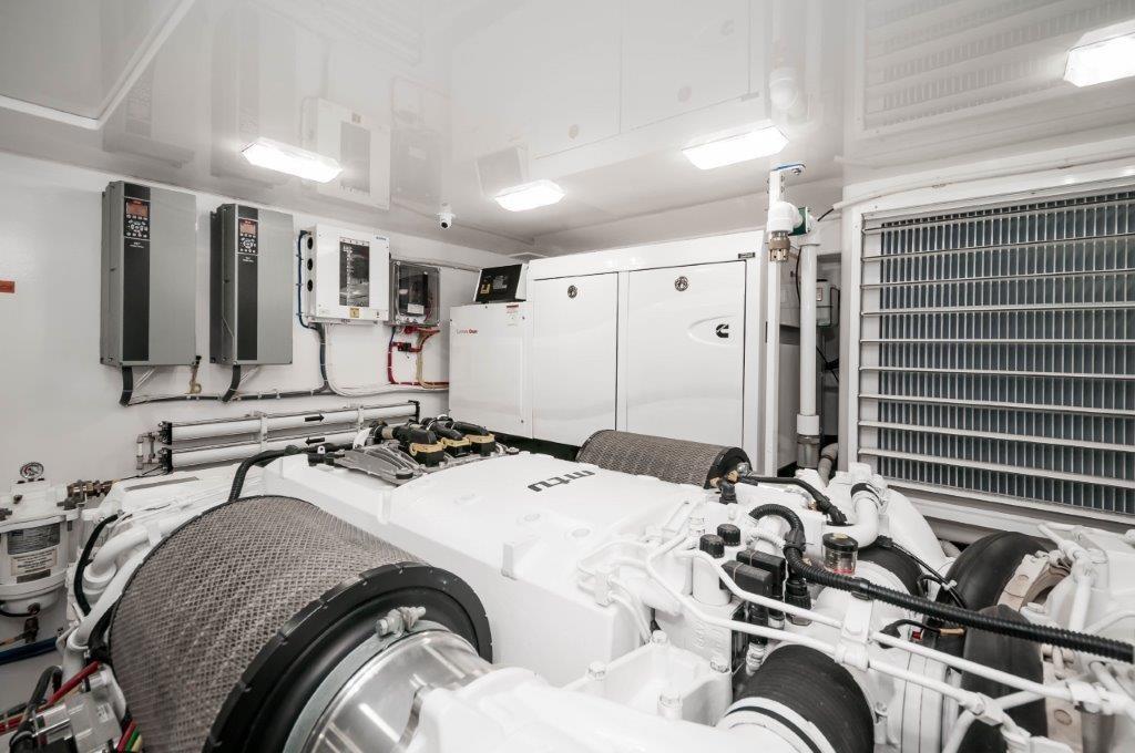 92 Viking Starboard Generator