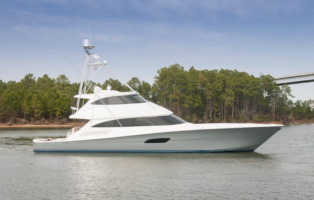 92 Viking Starboard Profile