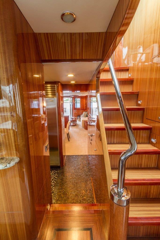 90 Ocean Alexander Stairs to Sky Lounge