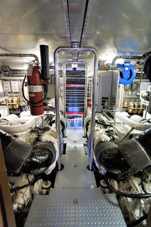 Marys Promise Iv Horizon 92 Yachts For Sale Whirlpool Senseon Dryer Wiring Diagram Engine Room 1