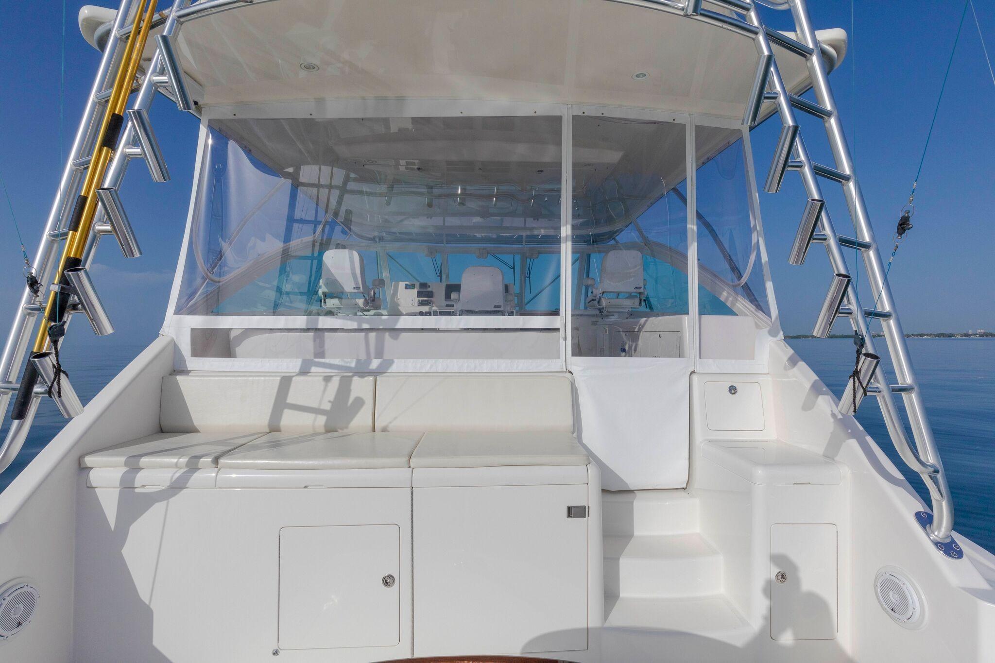 52 Cabo Cockpit Forward