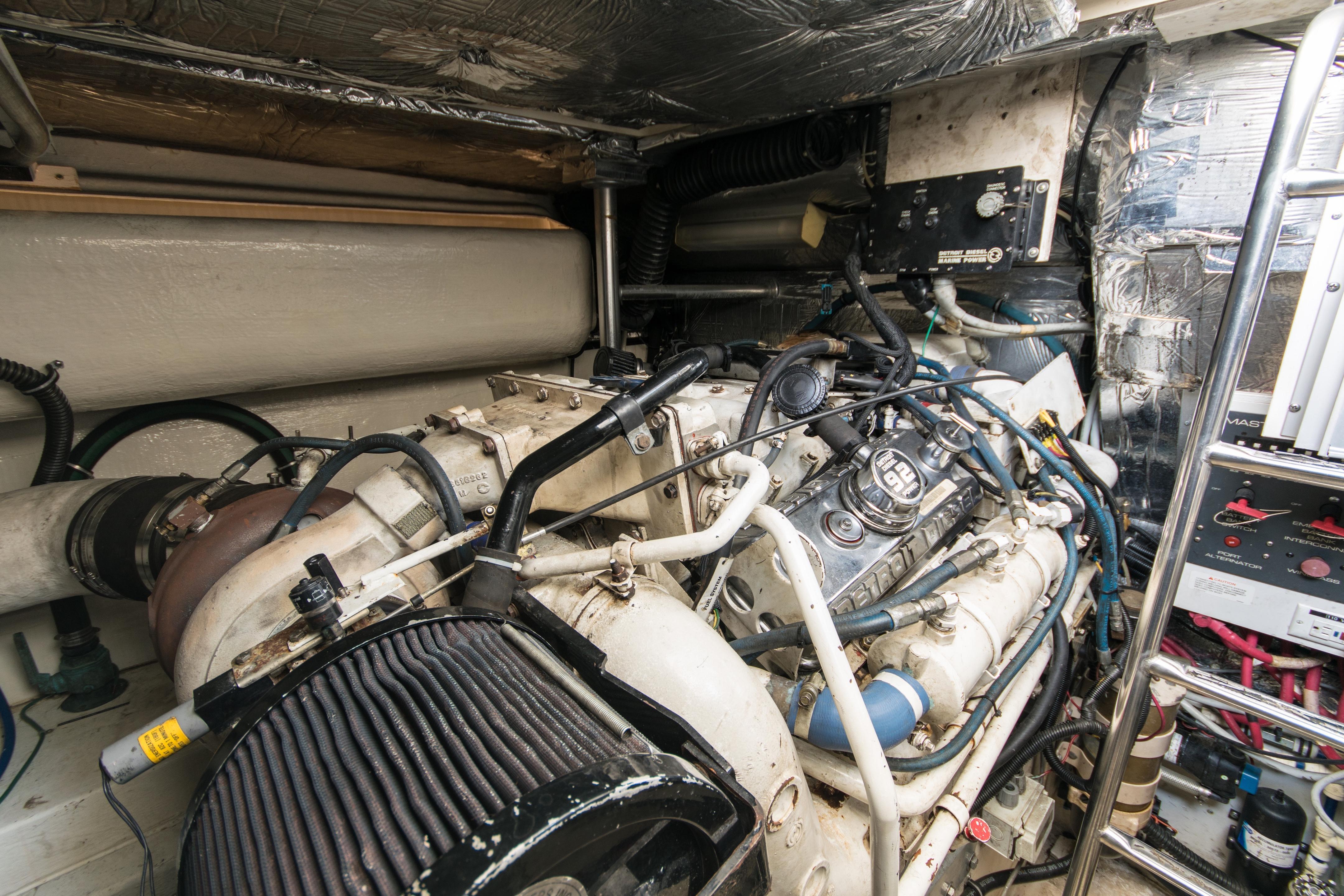 Nauti Buoy Tiara 43 Yachts For Sale Series 53 Detroit Diesel Engine Wiring