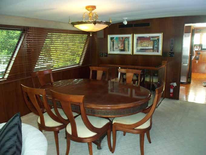 77 Hatteras Dining Table