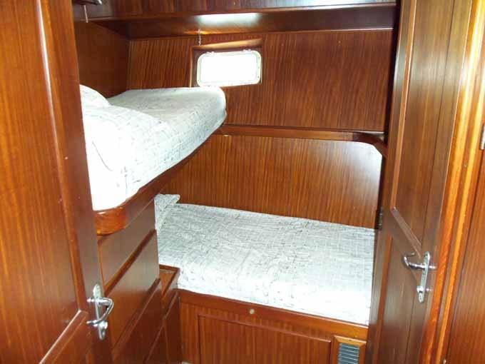 77 Hatteras Crew Cabin