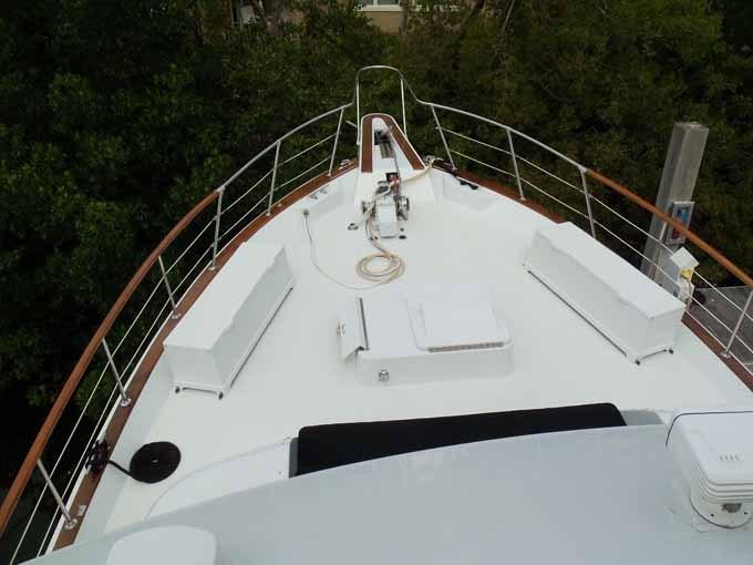 77 Hatteras Bow