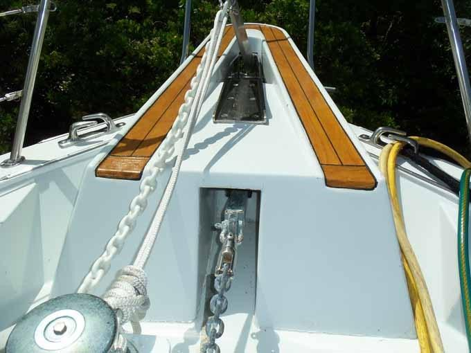 77 Hatteras Double Anchor System