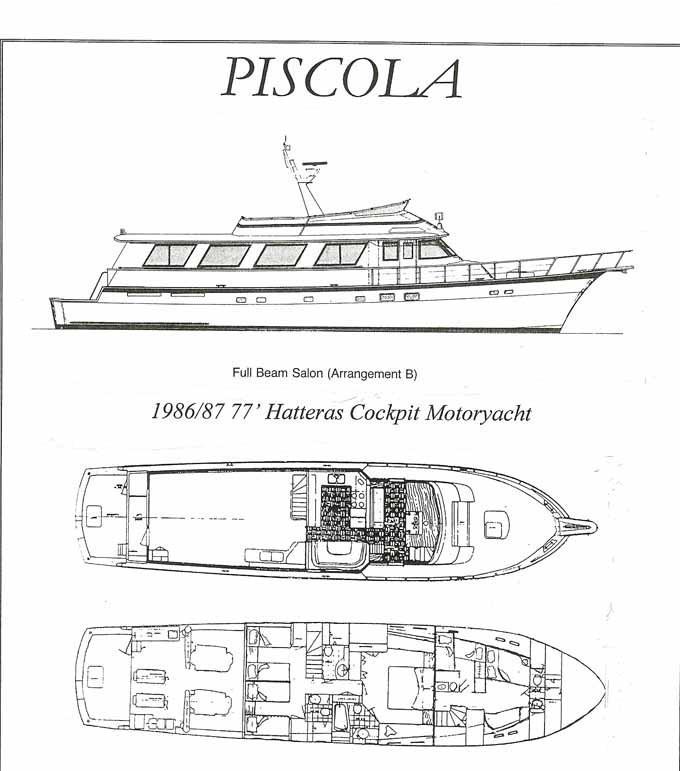 piscola hatteras 77 yachts for sale starcraft wiring diagram hatteras wiring diagram #17