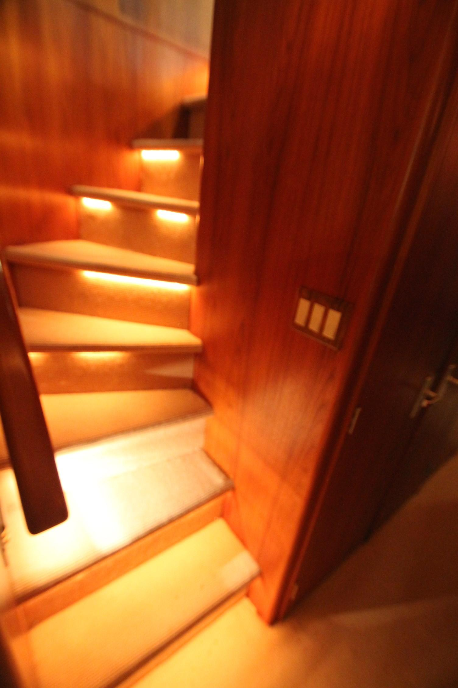 86 Burger Stairs to Staterooms