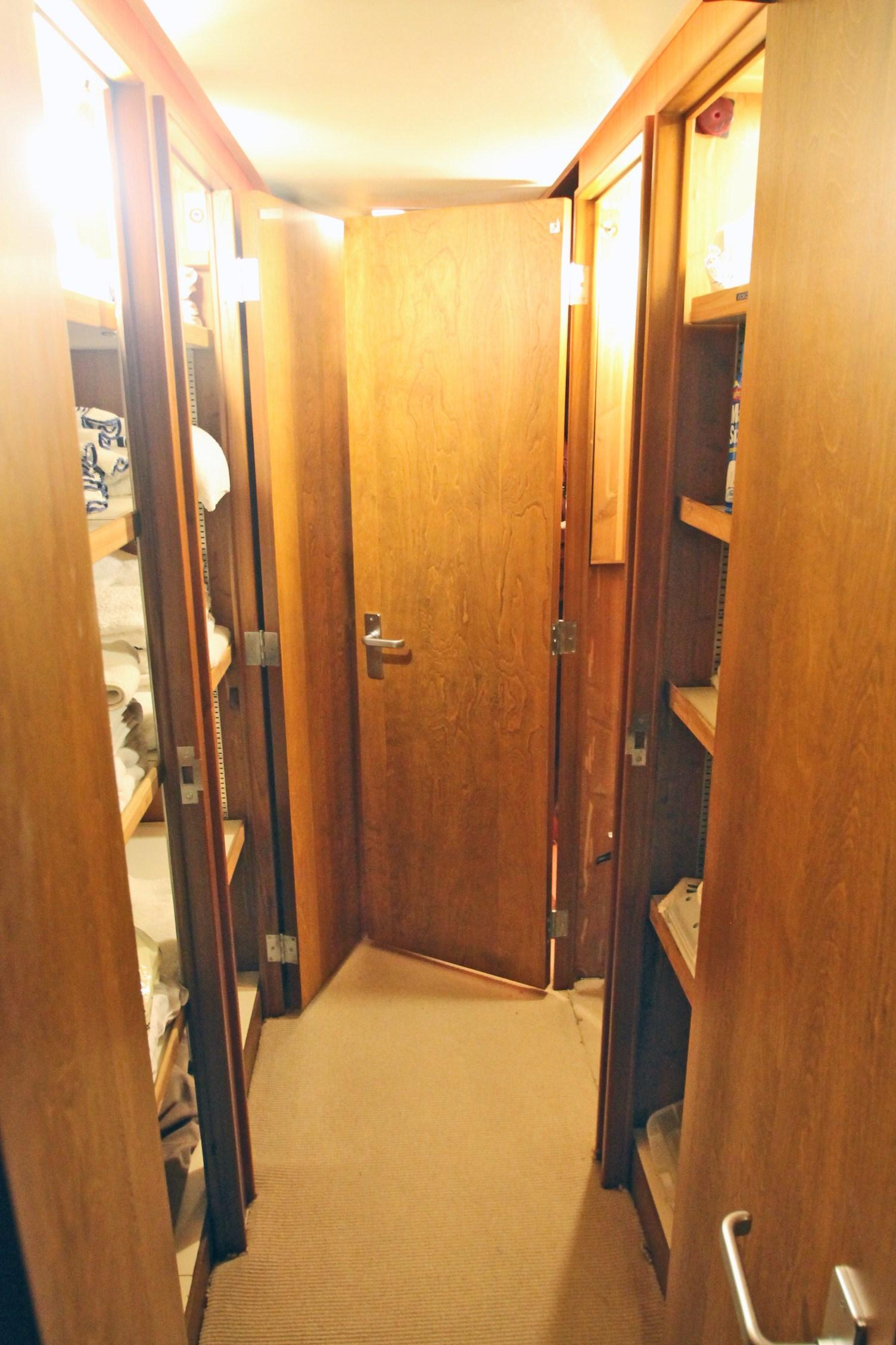 86 Burger Companion Way Locker on either side