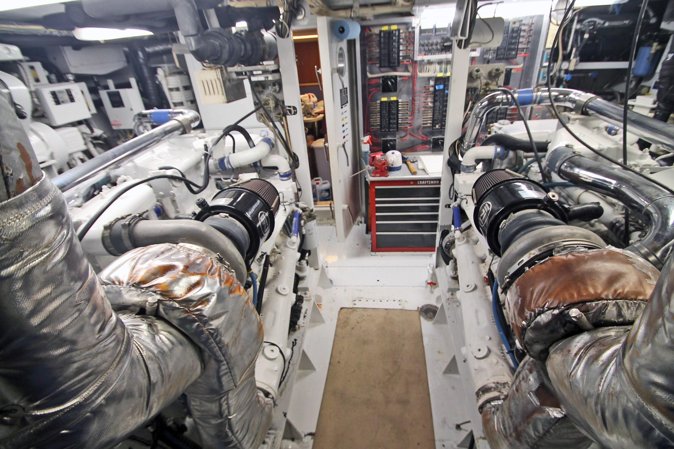 86 Burger Engine Room Looking FWD