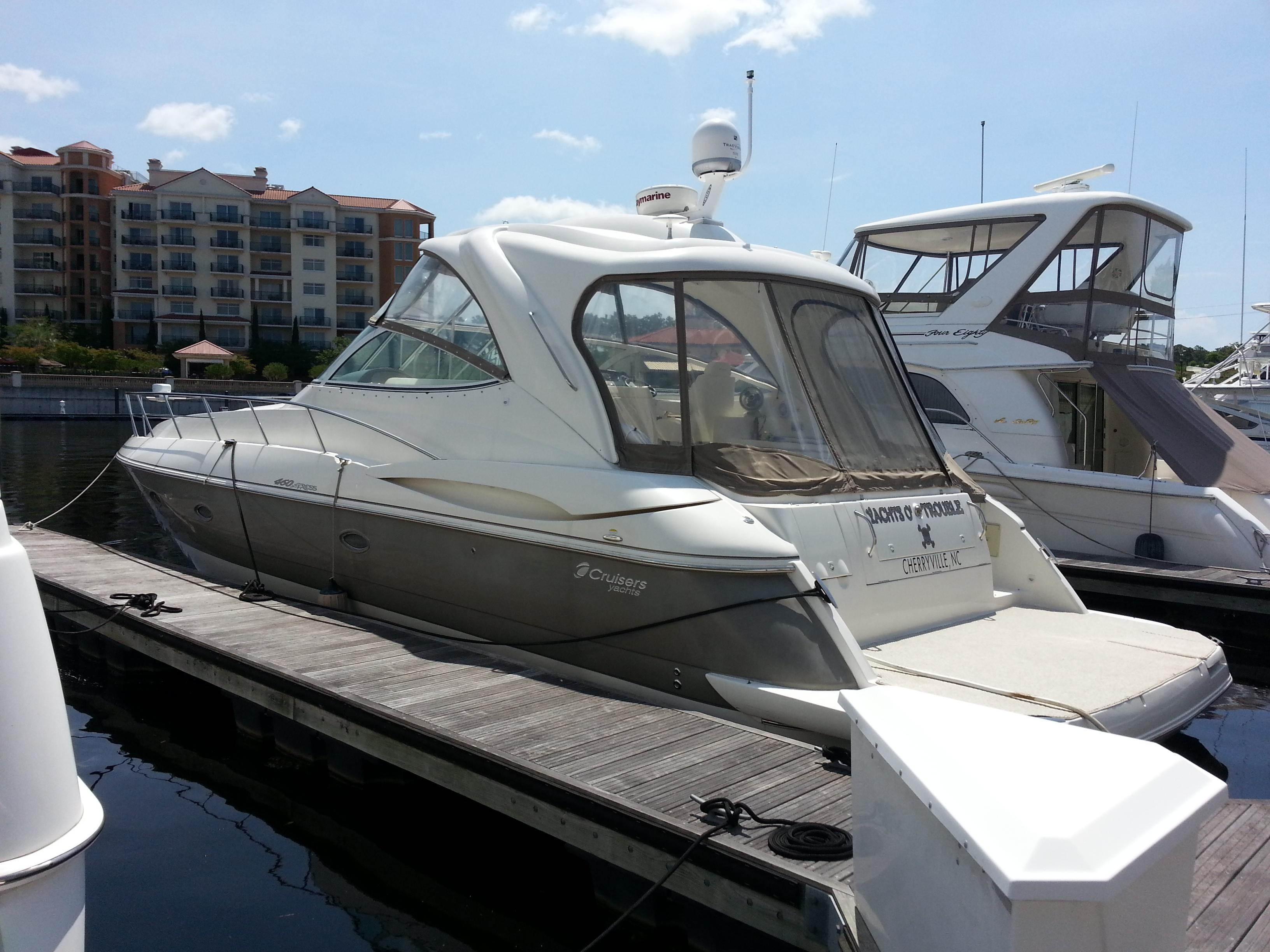 Yachts Of Trouble Cruisers Yachts 2007 460 Express 46 ...