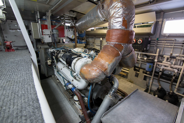 85 Burger Engine Room