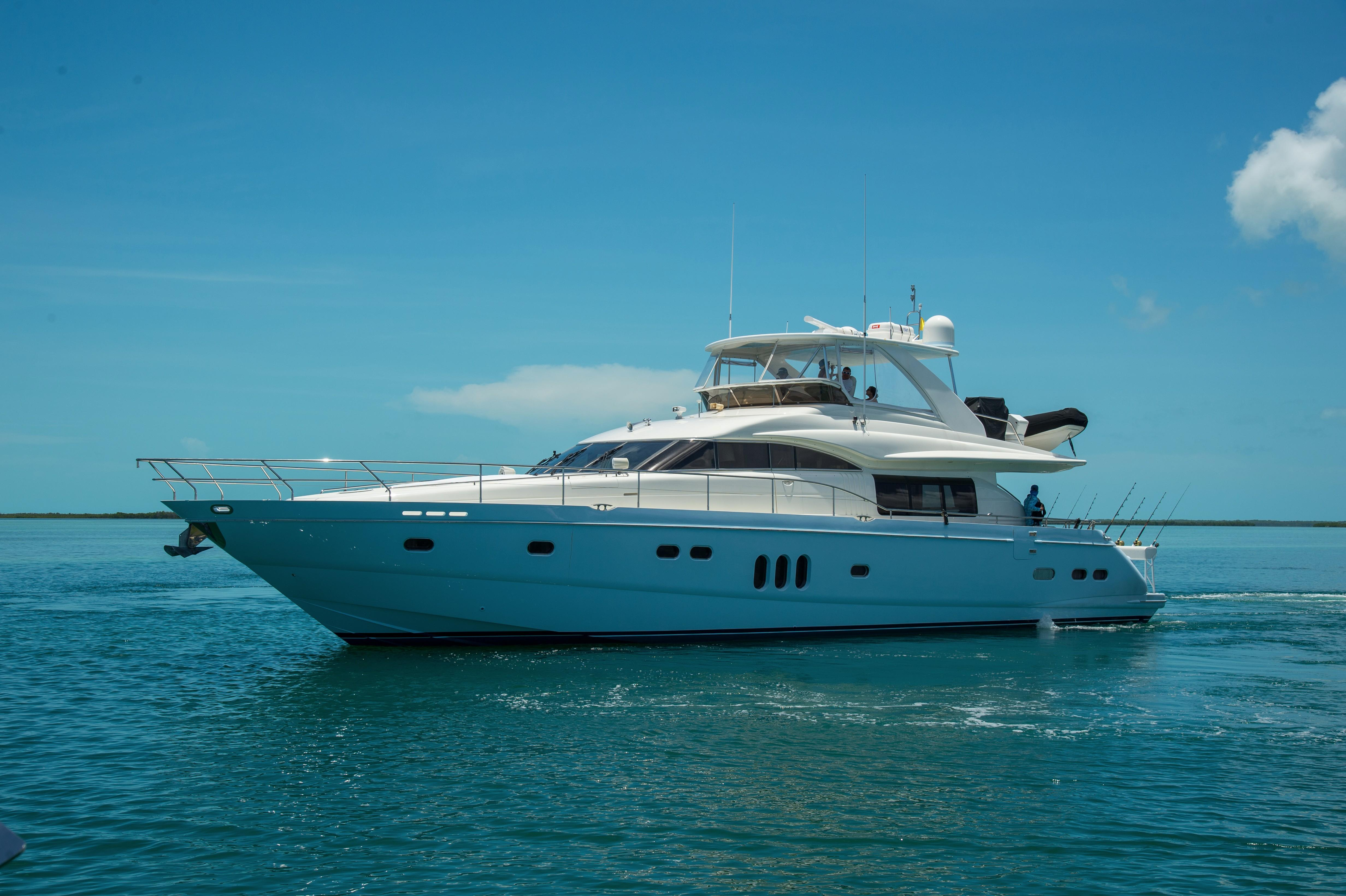 75 princess viking sport cruiser 2006 time out fort for Princess 75 motor yacht