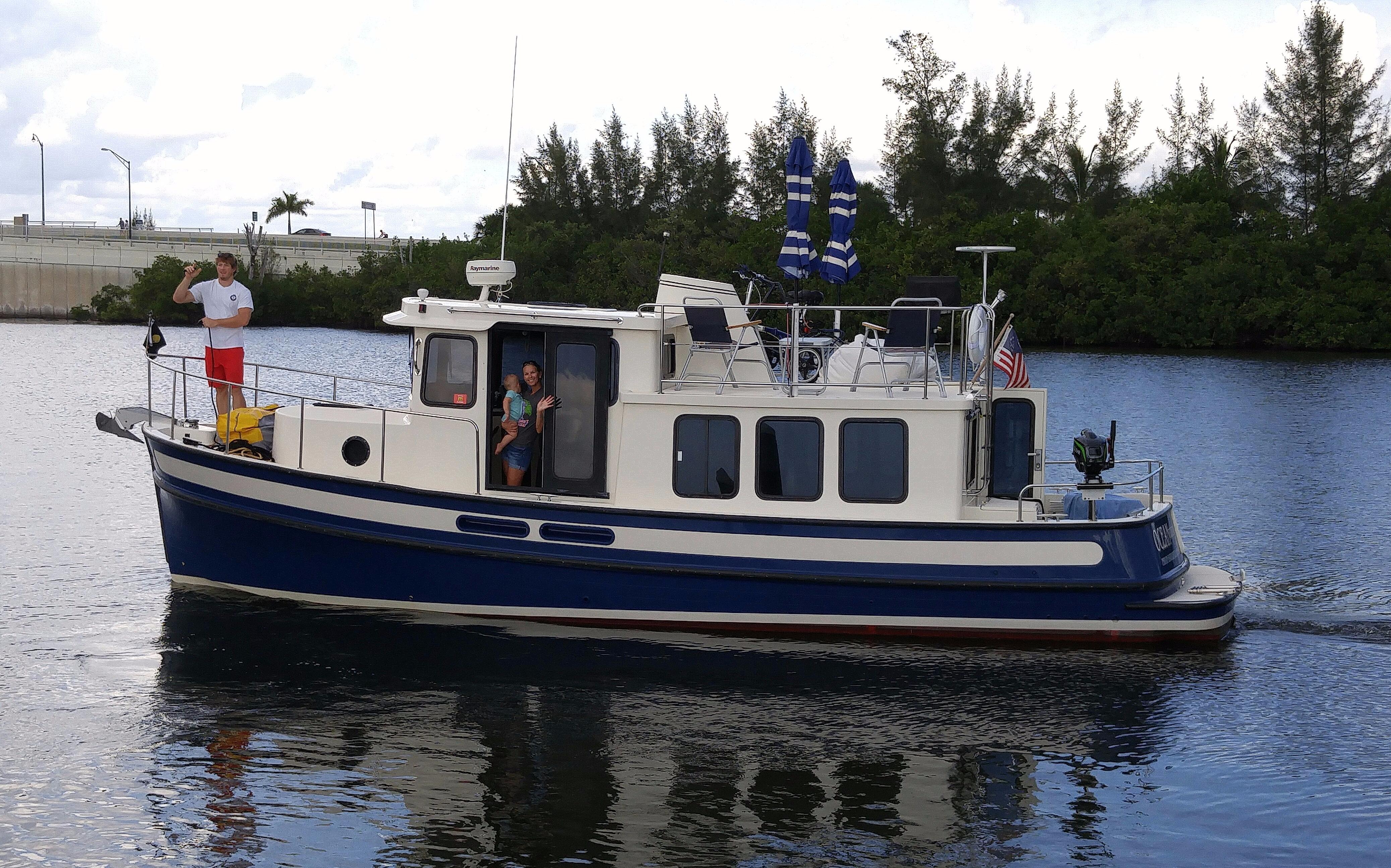 32 Nordic Tugs Port side