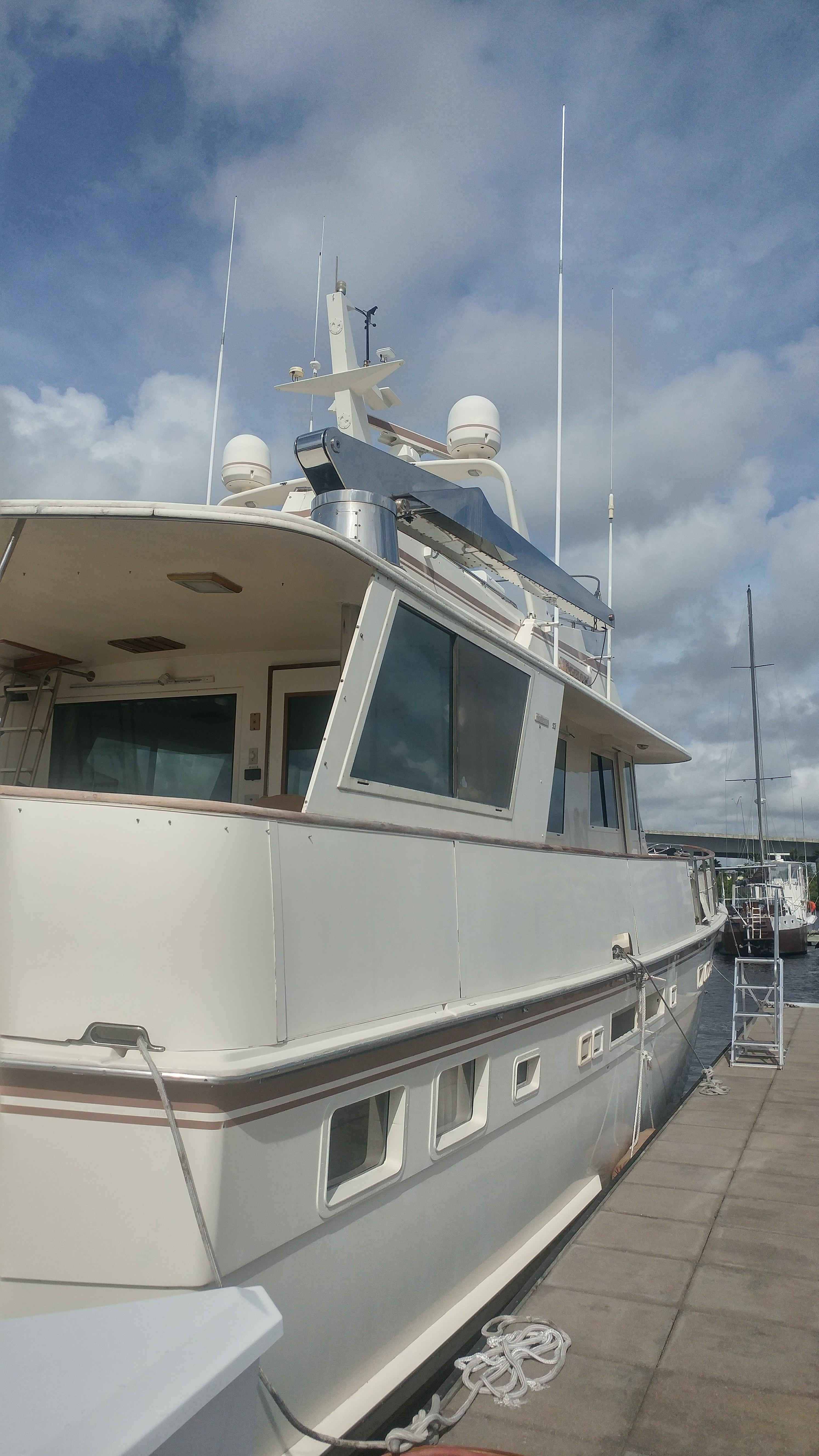 58 Hatteras Stainless lift