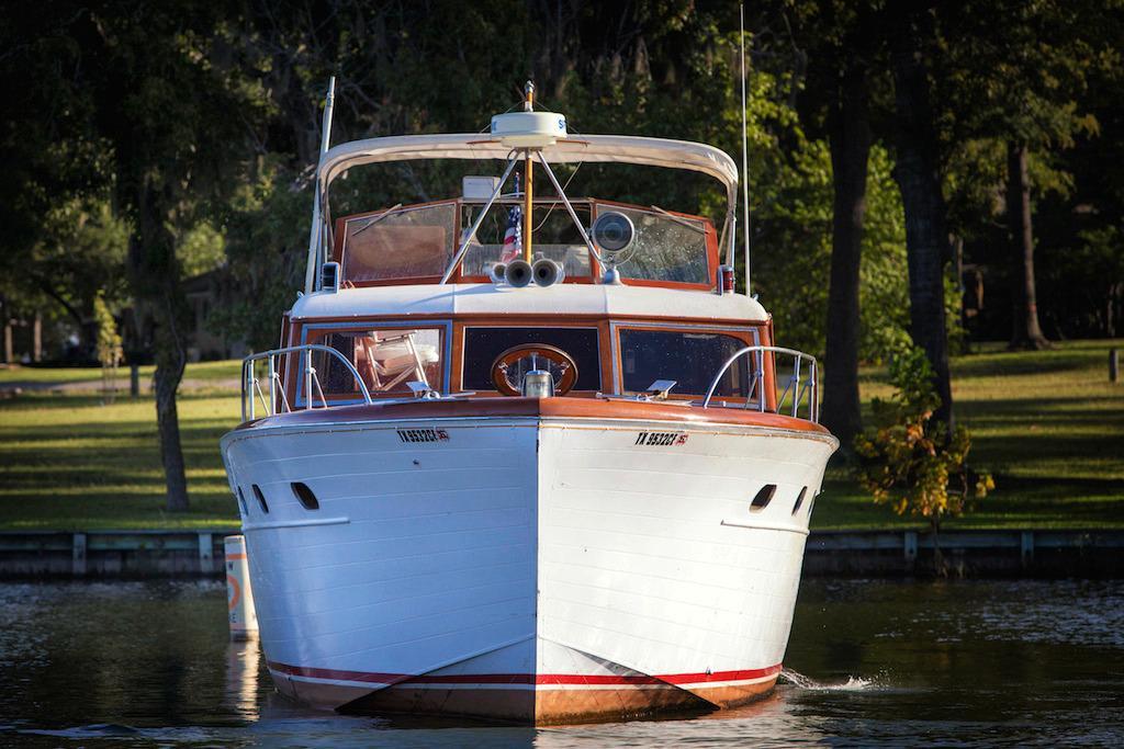 45 chris craft 1953 lake conroe texas for Chris craft boat club