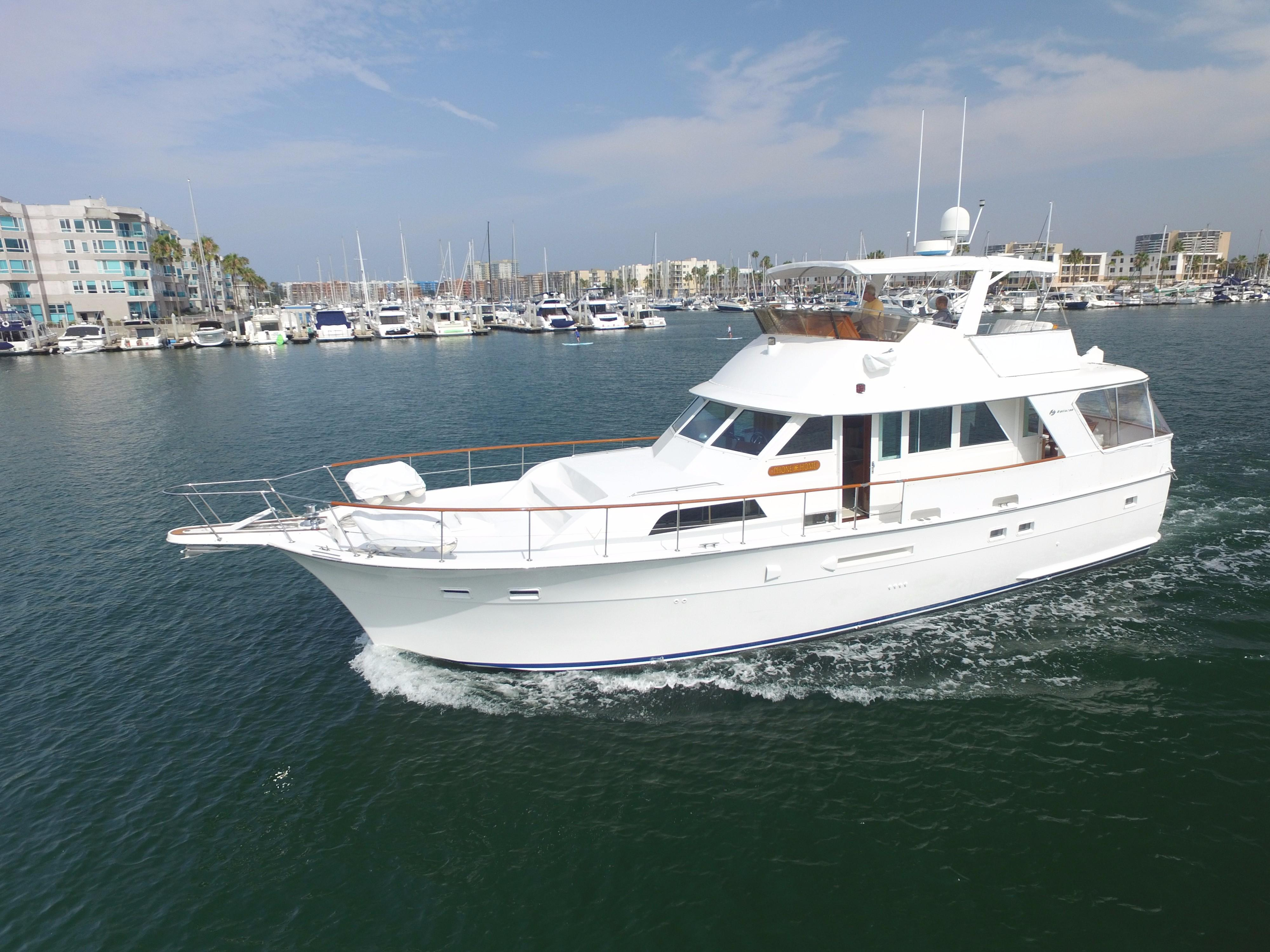 53 Hatteras Heading out to Sea