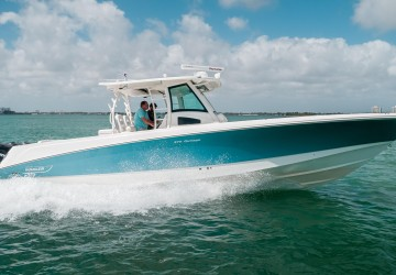 Three M's 37' Boston Whaler 2014