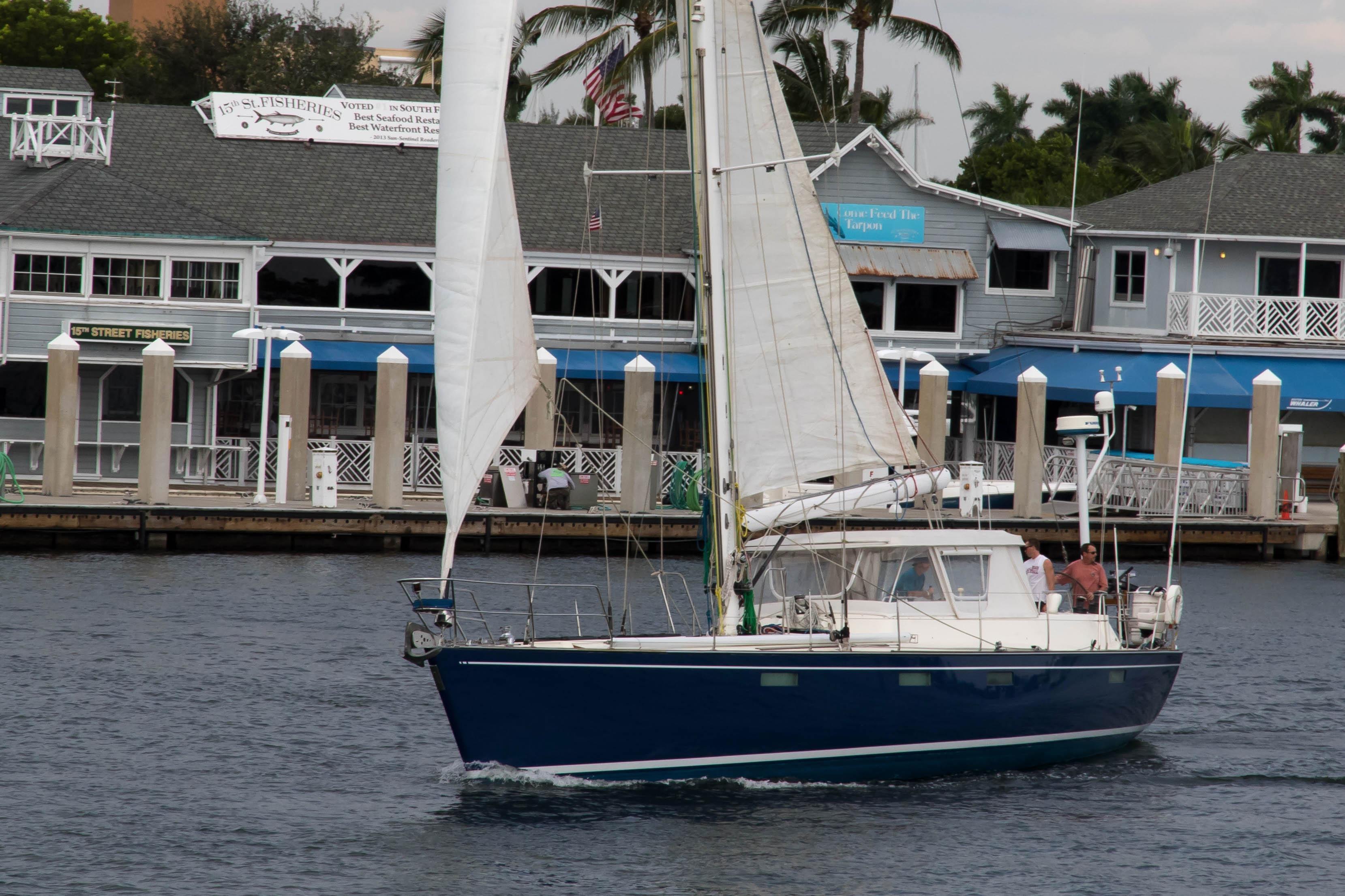 62 Deerfoot Deerfoot 62' - sailing