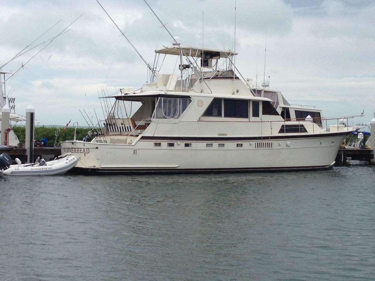 58 Hatteras 1975 Hammerhead Fort Lauderdale Florida Sold On 2017 06 26 By Denison Yacht Sales