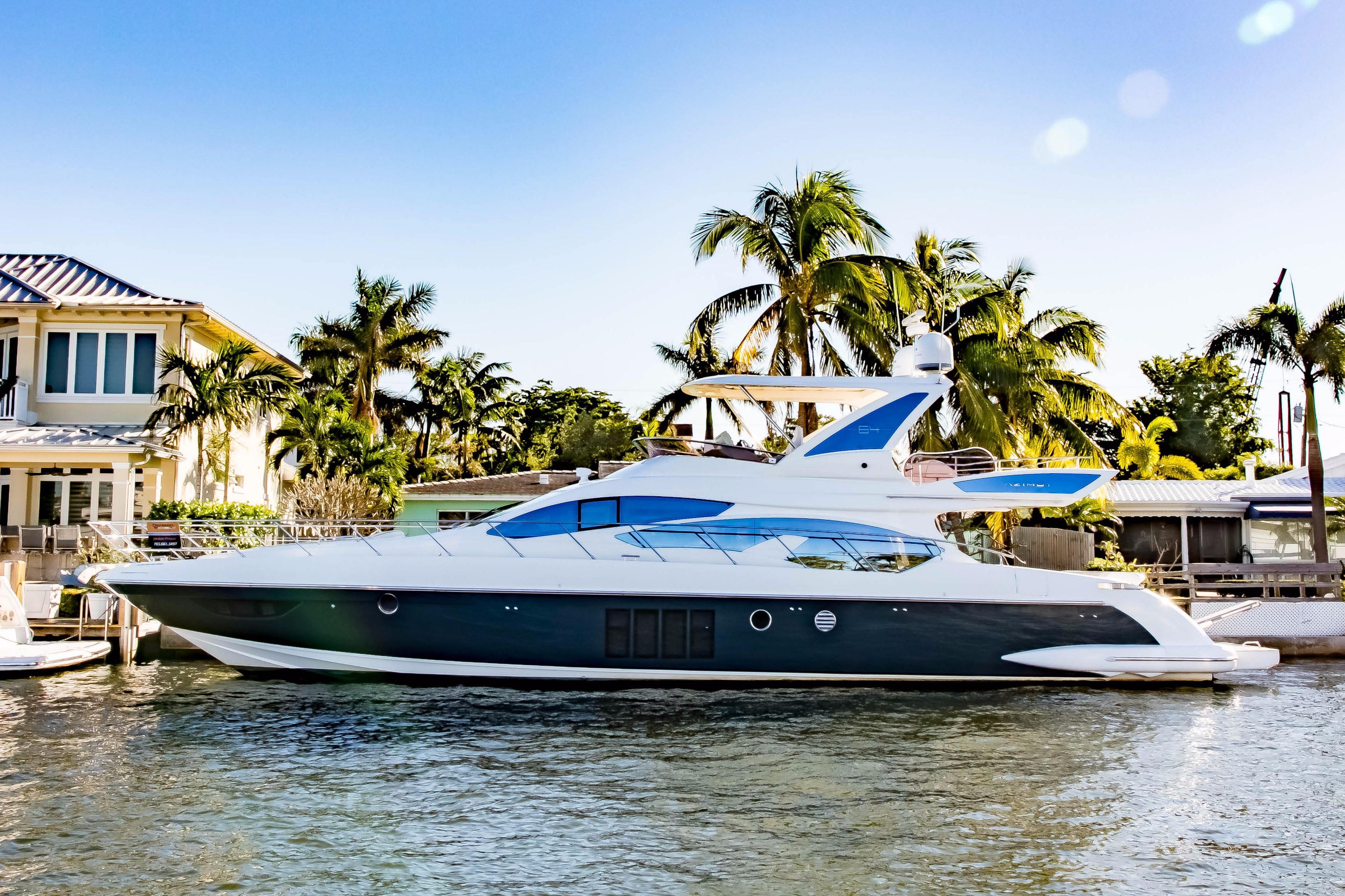 64 Azimut 2015 Trade In Ft. Lauderdale, Florida