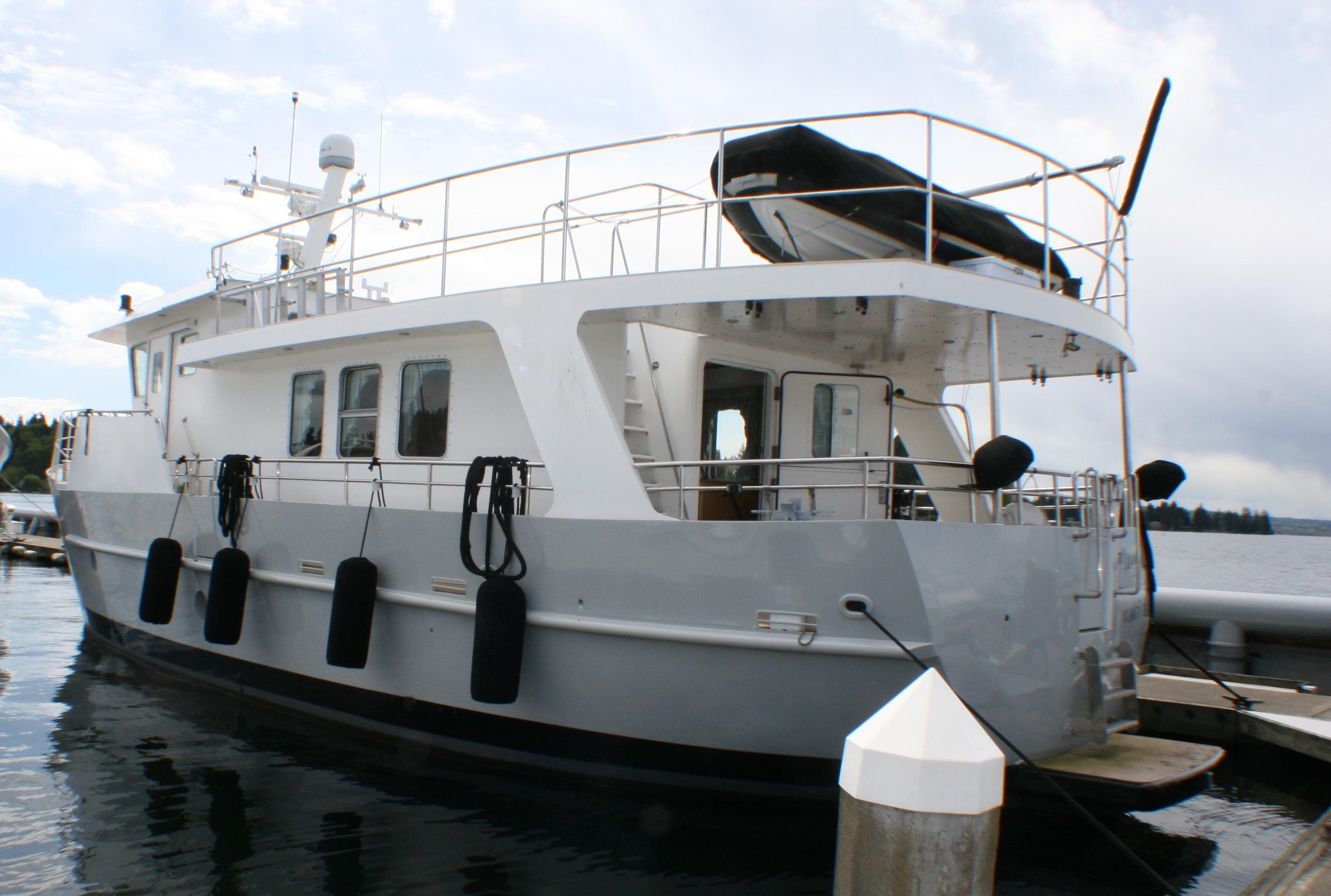 63 Cape Horn Integrity 1999 Seattle | Denison Yacht Sales