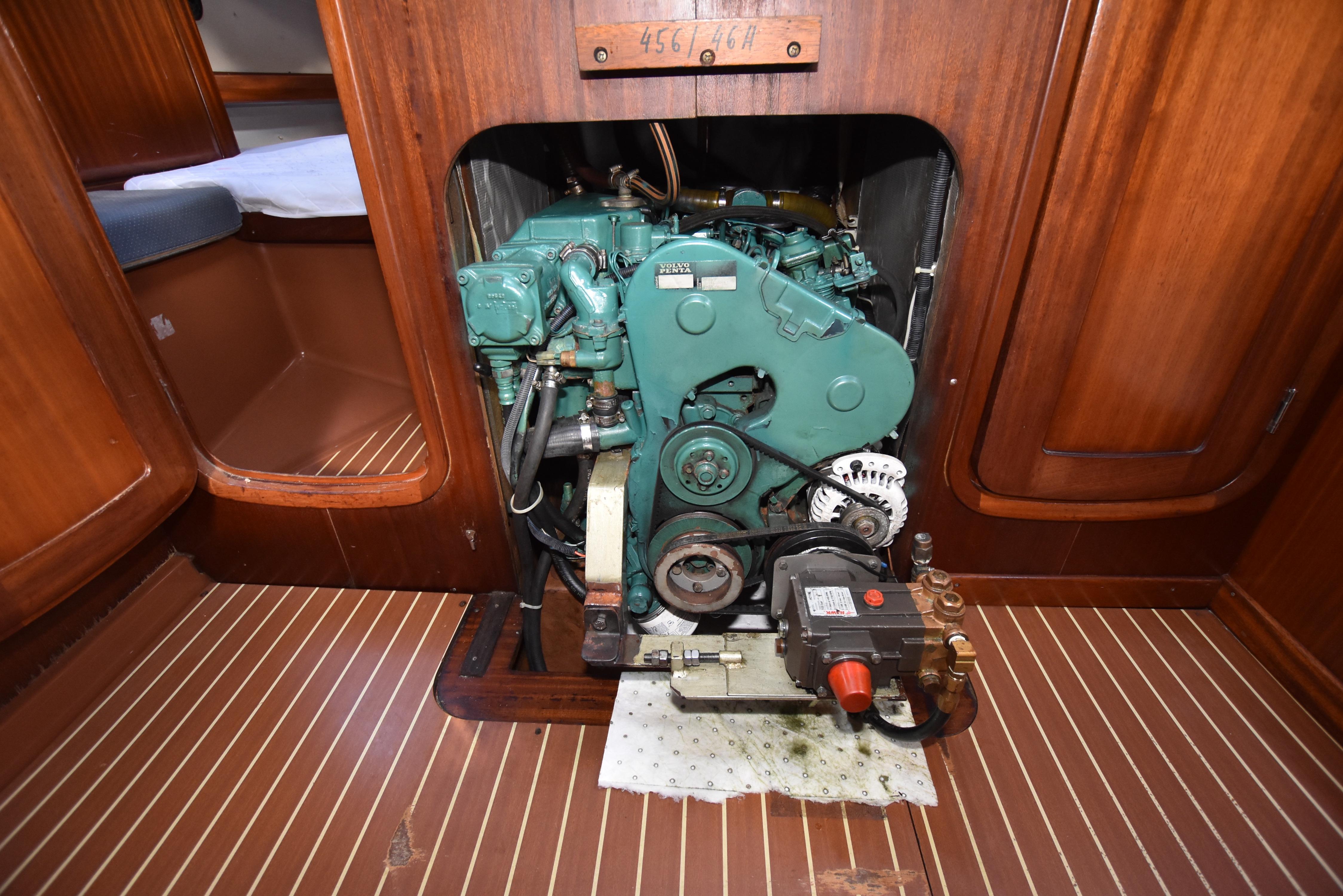 46 Bavaria Main engine