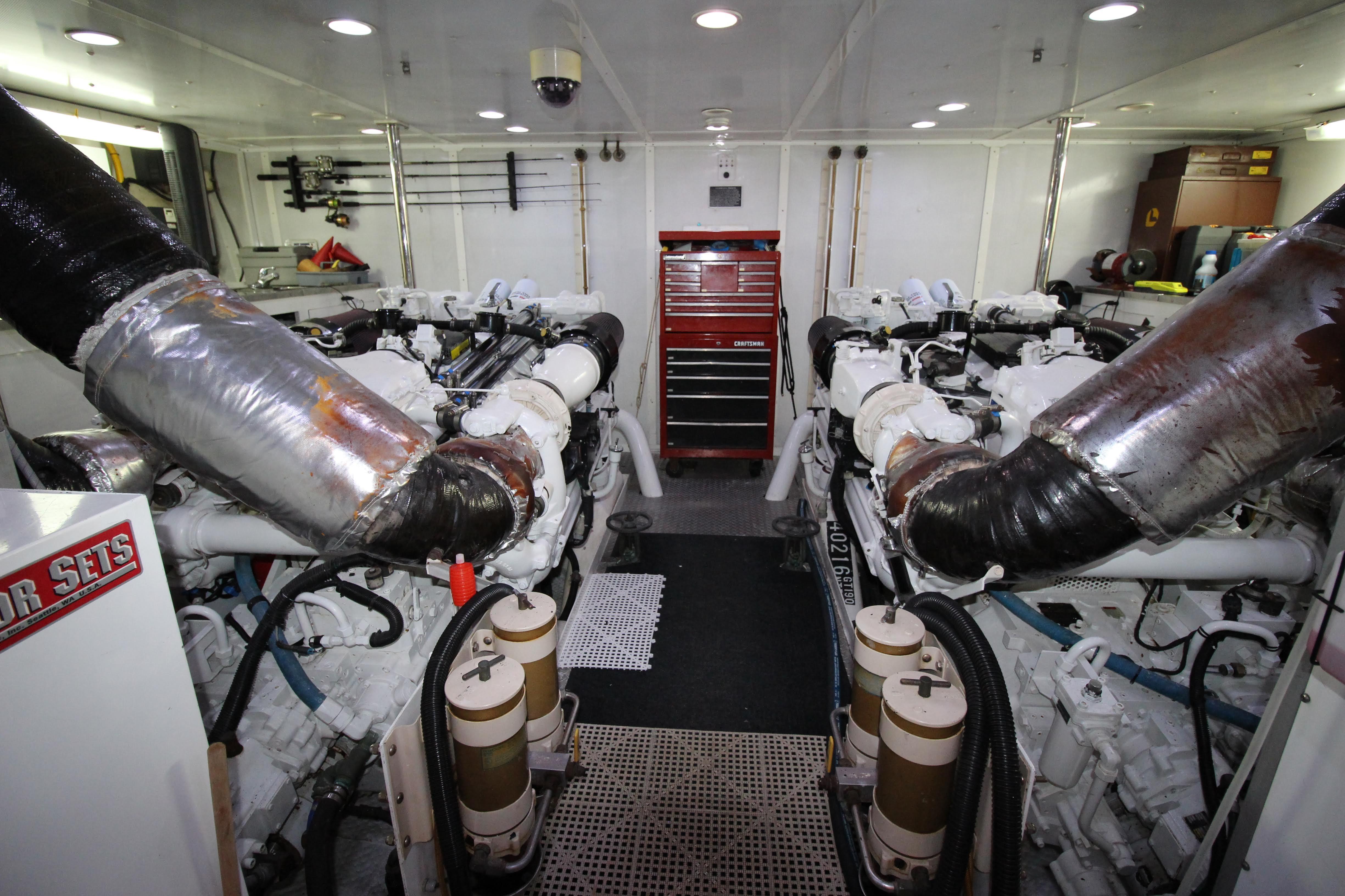 103 Westport Engine Room   Looking Forward