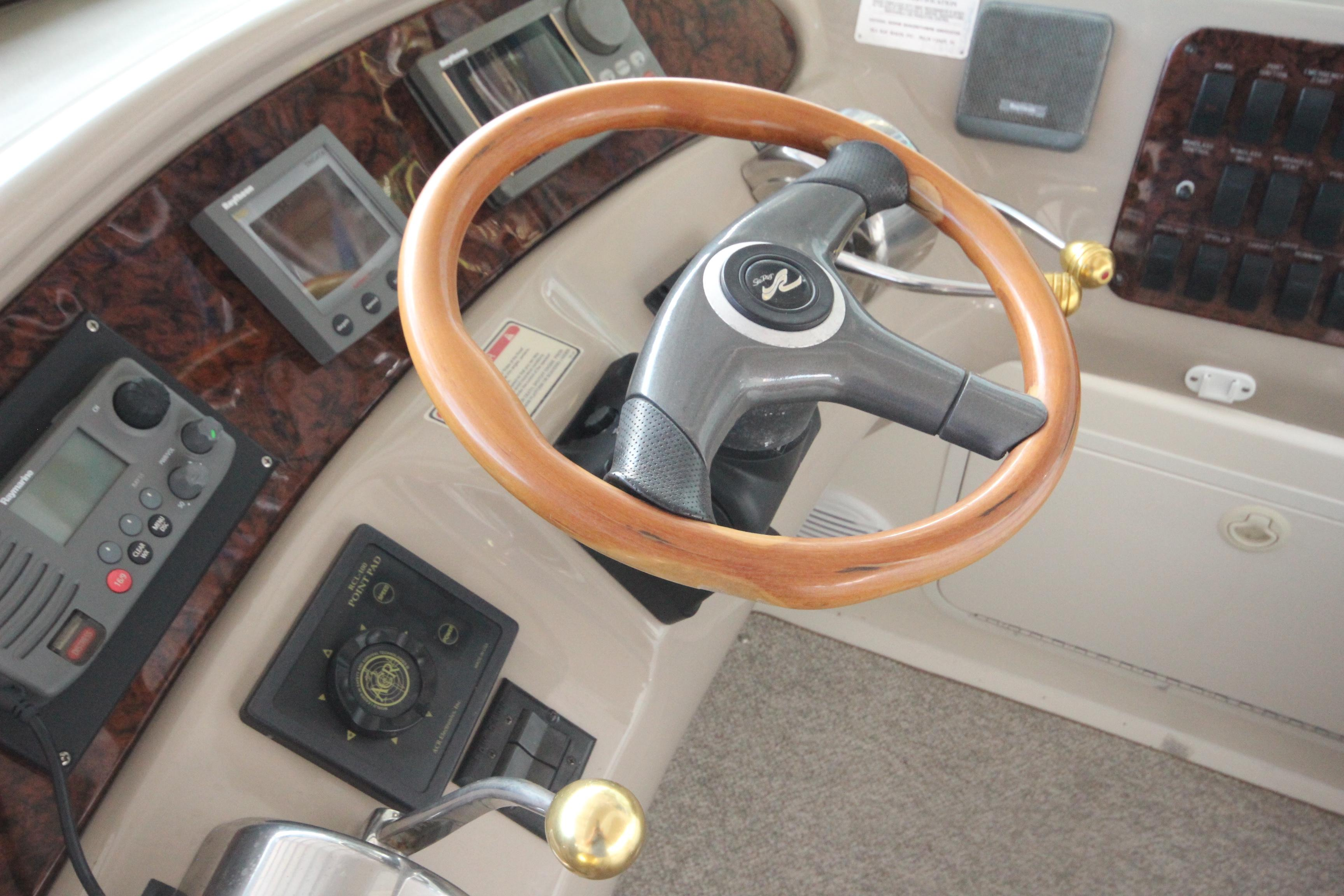 46 Sea Ray Steering Wheel