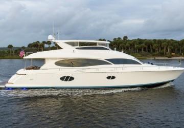 Shades Of Blue 84' Lazzara Yachts 2006
