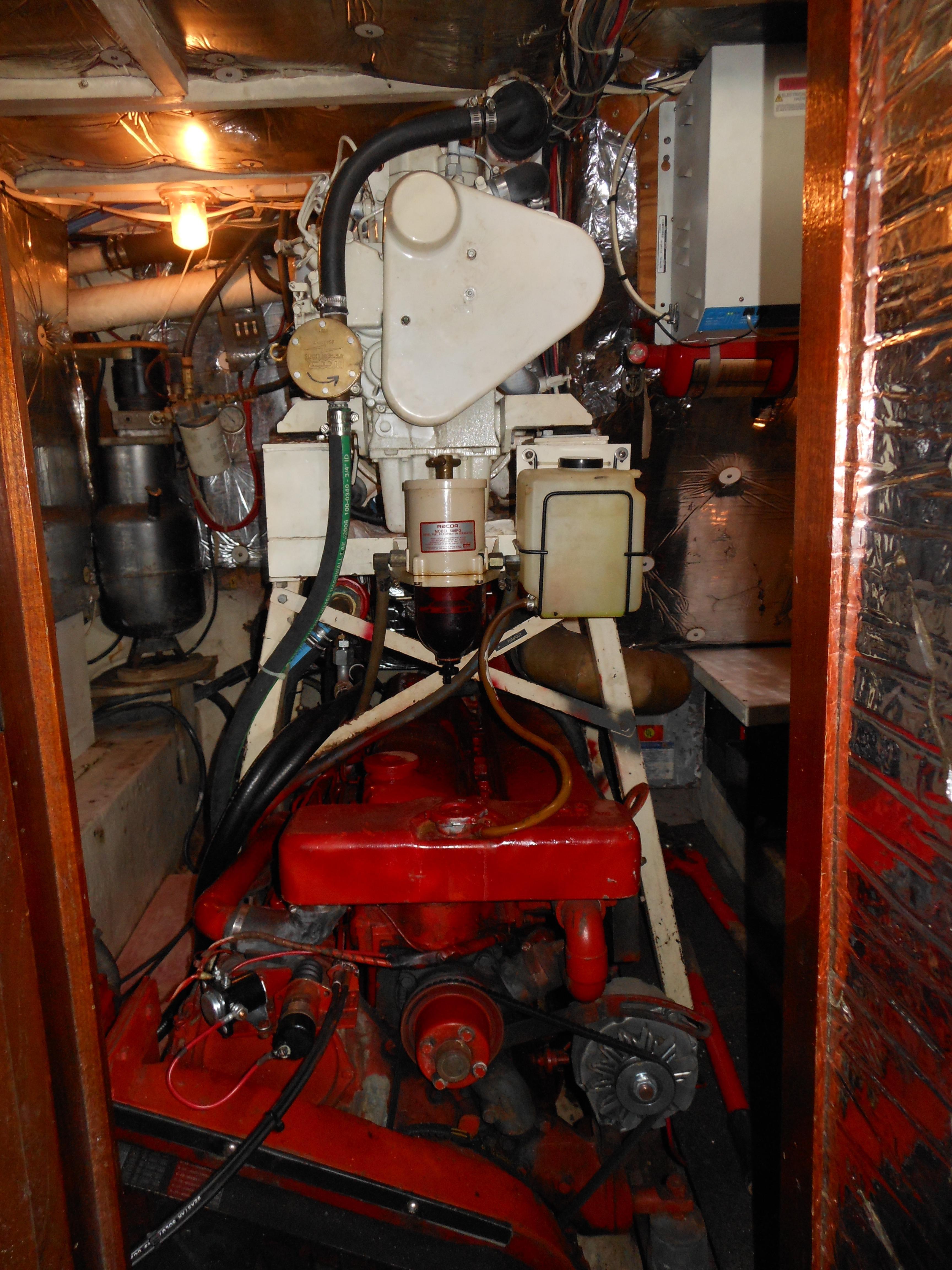 57 Wellington Generator above main engine
