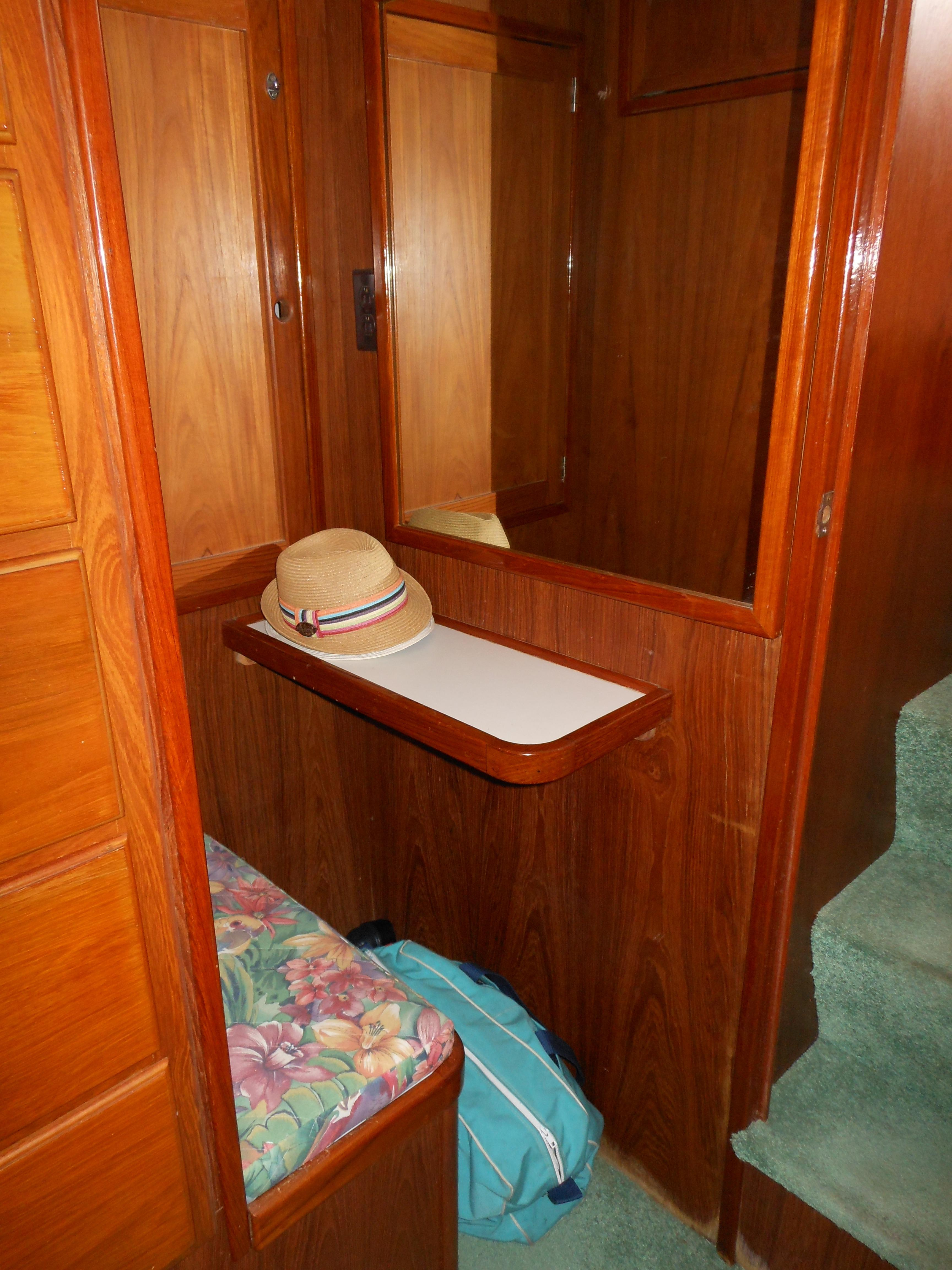 57 Wellington Vanity - desk in master