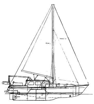 57 Wellington Line Drawing profile