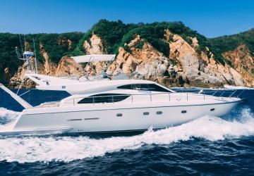 Passion 53' Ferretti Yachts 2003
