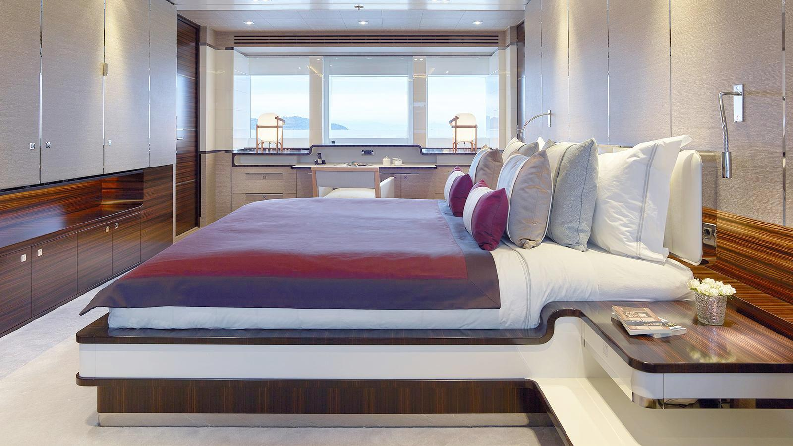 12 GUESTS / 5 STATEROOMS